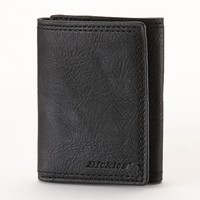 Dickies Trifold Leather Wallet - Men (Black)