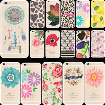 6 6S Supper Popular Pattern Lovely Lemon Silicon Phone Shell Cover For Apple iPhone 6 iPhone 6S iPhone6S Case Cases Top Fashion