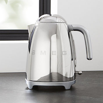 Smeg Silver Retro Electric Kettle