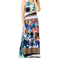 Clover Canyon Liquid Jade Maxi Dress
