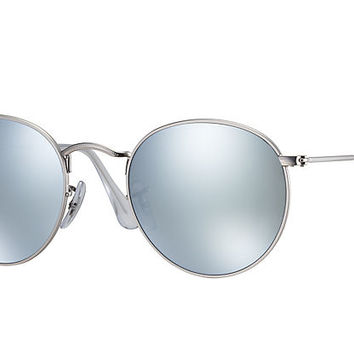 Ray-Ban ROUND FLASH LENSES Gold , RB3447 | Ray-Ban® USA