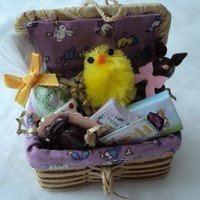 Dolls House Miniatures - Easter Gift Hamper