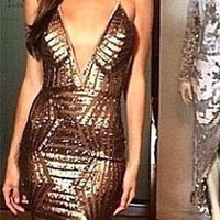 Carolyn Sequin Dress