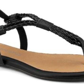 Sperry Top-Sider Lacie Sandal Black/PatentWoven, Size 7.5M  Women's Shoes