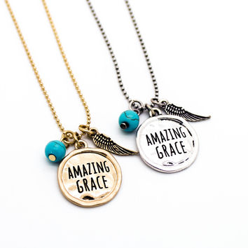 Amazing Grace necklace set