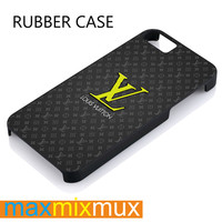 Louis Vuitton Logo iPhone 4/4S, 5/5S, 5C, 6/6 Plus Series Rubber Case