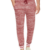 Threads 4 Thought Men's Varsity Cotton Joggers - Red -