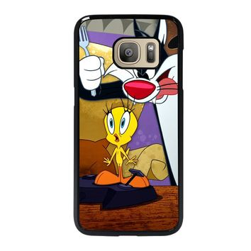 SYLVESTER AND TWEETY Samsung Galaxy S7 Case
