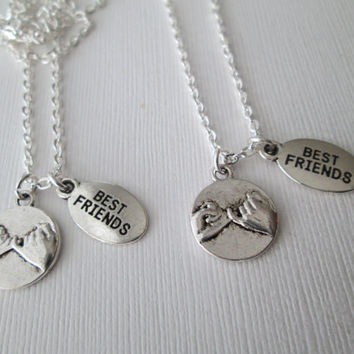 2 Pinky Promise, Best Friends Necklaces