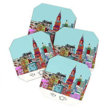 Brian Buckley New York Living Coaster Set