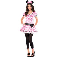 Teen Girls Minnie Mouse Costume- Party City