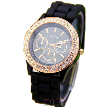Fashion Sport Silicone Watches Men & Women Casual Watches Fashion Quartz Unisex Jelly Watch = 1956394756