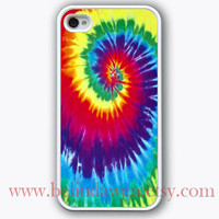 iPhone 4 Case, iphone 4s case, Tie-Dye iphone case, graphic iphone hard case for iphone 4, iphone 4S