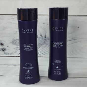 Caviar Anti Aging Replenishing Moisture Shampoo + Conditioner By Alterna