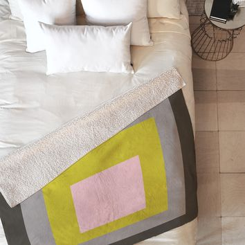 Caroline Okun Flint Fleece Throw Blanket