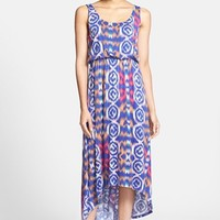FELICITY & COCO Print High/Low Maxi Dress (Nordstrom Exclusive)