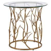 NEW! Branching Out Art Deco Side Table