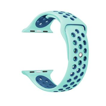 For Apple Watch Series 1 Series 2 Strap For Nike Sport apple watch band 38/42mm Silicone Colorful Band Connector Adapter straps