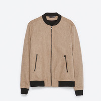 CAMEL TONE WOOL JACKET