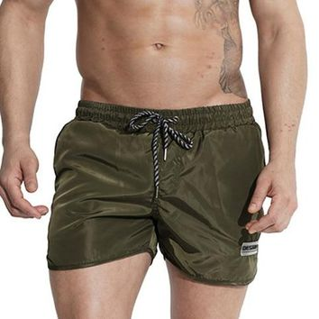 Men bermuda surfing shorts mens beach board swimming shorts swimwear trunks joggers sweatpants man cargo bottom lining quick dry