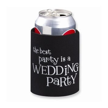 Wedding Party Cup Cozy - Perfect Wedding Gift