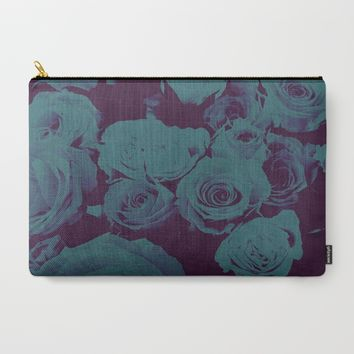 Mother May I -blue- Carry-All Pouch by Ducky B