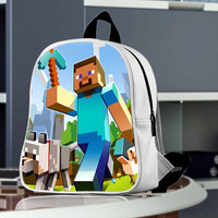 Minecrafet Games school bag