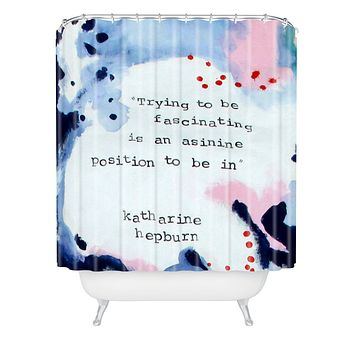 Deb Haugen Fascinating Shower Curtain