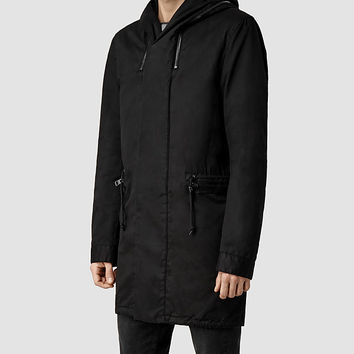 Mens Chilton Parka Jacket (Black) | ALLSAINTS.com