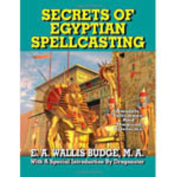Secrets of Egyptian Spellcasting E A Wallis Budge book shipped from USA