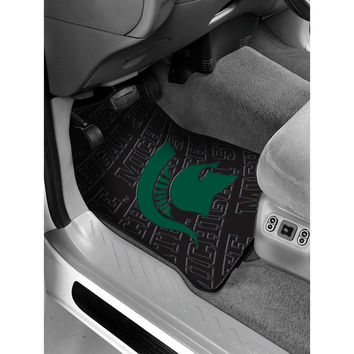Michigan State Spartans NCAA Car Front Floor Mats (2 Front) (17x25)
