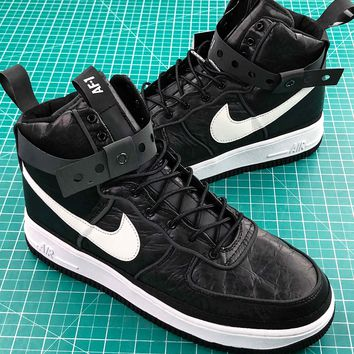 Nike Air Force 1 High 90/10 All Star 2018 Black White Sport Shoes - Best Online Sale