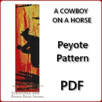 A COWBOY ON A HORSE ... by SzkatulkaAmi | Jewelry Pattern