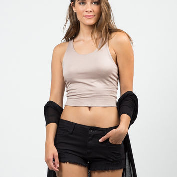 Your Everyday Cropped Top