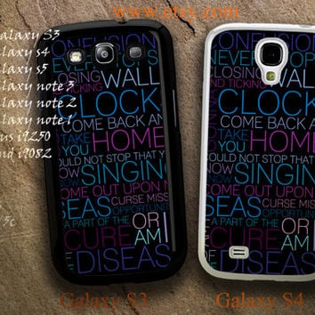 Coldplay Lyrics Barcelona Bavaro Beach  Case For iPhone 5/5c/5s/4/4s,Galaxy S5/S4/S3,Galaxy Note 3/2/1,iPod 5 Touch,HTC one X/M7