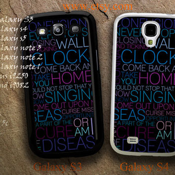 Coldplay Lyrics Barcelona Bavaro Beach Case For iPhone 5 5c 5s  df7c8c17e