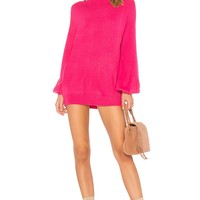 Lovers + Friends x REVOLVE Blaine Sweater Dress in Pink | REVOLVE