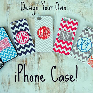 Design Your Own Personalized iPhone Case by PinkandLimeDesigns