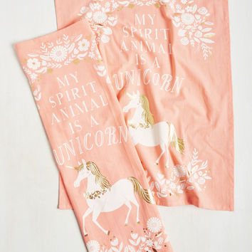 The Neighs Have It Tea Towel Set | Mod Retro Vintage Kitchen | ModCloth.com