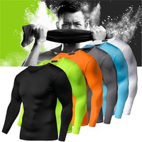 Quick Dry Compression Long Sleeves Shirt