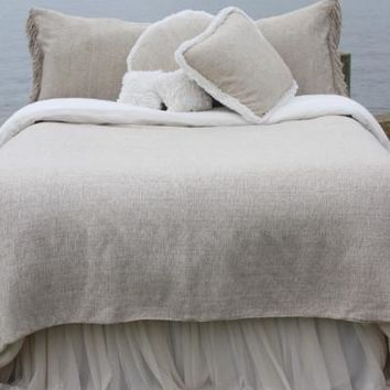 Heavenly Silk Coverlet - Bedding | Couture Dreams