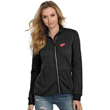 DCCKG8Q NHL Detroit Red Wings Women's Full-Zip Track Jacket