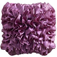 Product Detail - Purple Flounce Pillow