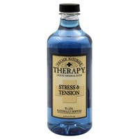Village Naturals Therapy Liquid Mineral Bath, Stress and Tension, 16 Ounce