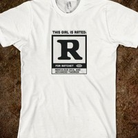 R for Ratchet - Funny tshirts for kids, teens, men, and women
