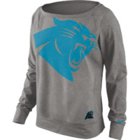 "Panthers Sweatshirt- Nike ""Wildcard Epic"" - Women's - Grey"