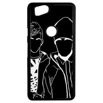 Twenty One Pilots Black And White Tumblr Google Pixel 2 Case