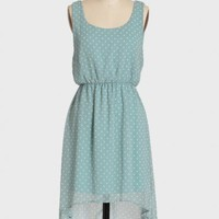 pacific blue polka dot dress at ShopRuche.com