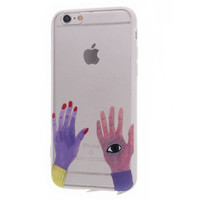 Hands Eye Phone Case For iPhone 7 7Plus 6 6s Plus 5 5s SE-004-05-Girllove100