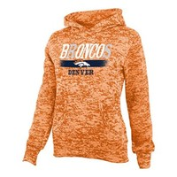 Denver Broncos Burnout Hoodie - Girls 7-16